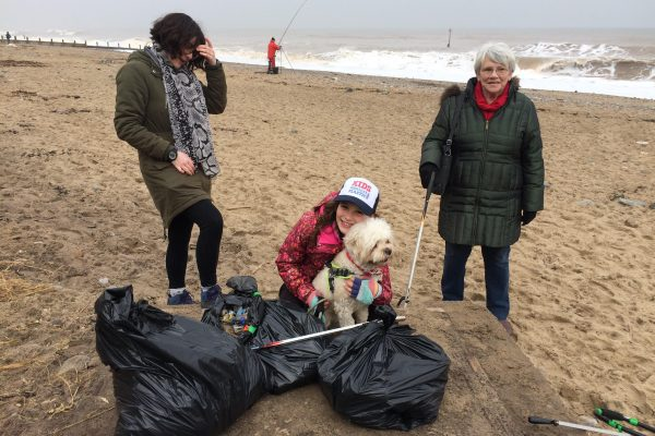 934 pieces picked up on Hornsea beach (with grandparents!) 13/4/18