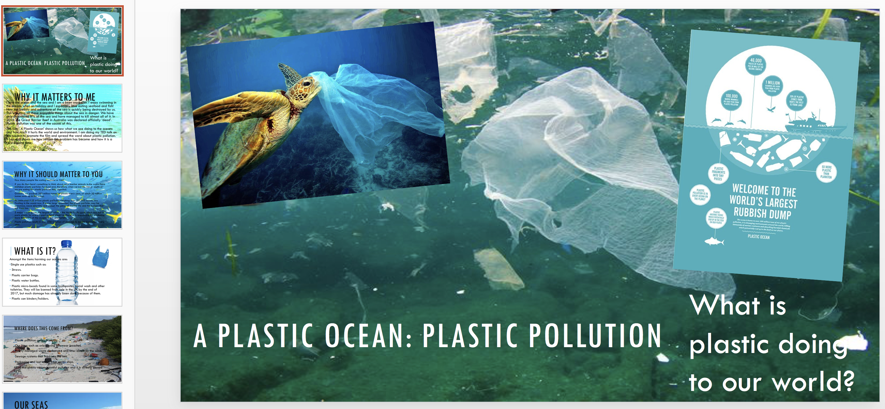 A Plastic Ocean Assembly for KS3 – ppt file   Kids Against