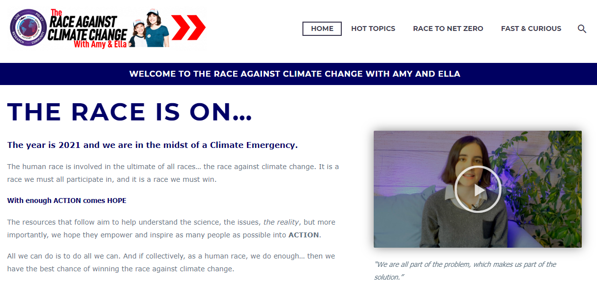 Link to the Race Against Climate Change